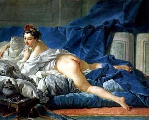 「オダリスク」(1745年)フランソワ・ブーシェ