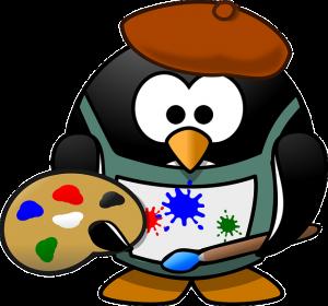 ペンギン画家