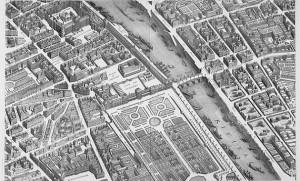 過去のパリ(地図)