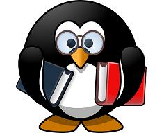 物知りぶるペンギン