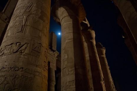 エジプトのカルナック神殿(出展:pixabay)