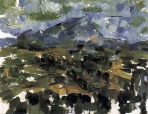 「サント・ヴィクトワール山」(1904-1906)ポール・セザンヌ