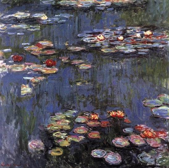「睡蓮(Water Lily)」(1916年)クロード・モネ