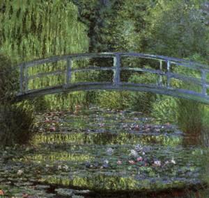 「睡蓮の池(Water Lily Pond)」(1899年)クロード・モネ
