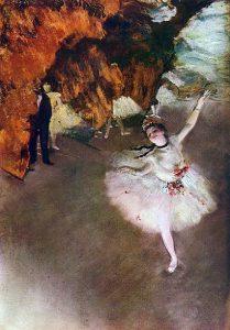 「エトワール(舞台の踊り子)」(1878年)エドガー・ドガ