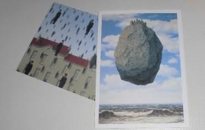 マグリット展のポストカード
