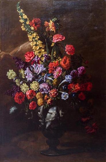 「花」(17世紀頃)パオロ・ポルポラ