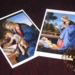 ボッティチェリ展のポストカード