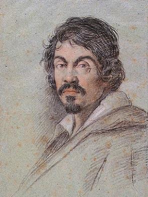 「カラヴァッジョの肖像画」(1621年頃)オッタヴィオ・レオーニ