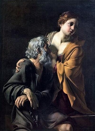 「Carita Romana」(1620年)Bartolomeo Manfredi
