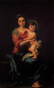 「聖母子」(1650年)バルトロメ・エステバン・ムリーリョ
