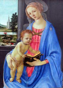 「聖母子」(1478年)フィリッピーノ・リッピ
