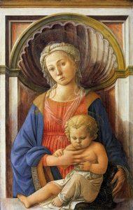 「聖母子」(1440年頃)フィリッポ・リッピ