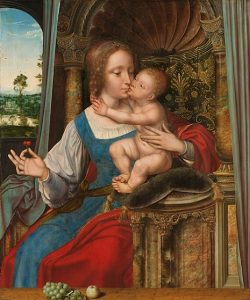 「聖母子」(1525‐1530年頃)クエンティン・マサイス