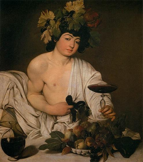 「バッカス」(1595年頃)カラヴァッジョ