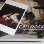 「カラヴァッジョ展」のポストカードと図録集