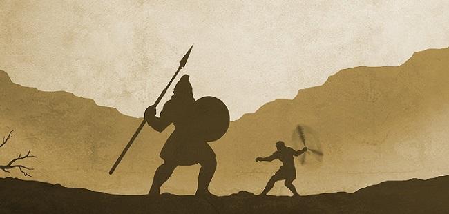 David(ダビデ)とGoliath(ゴリアテ)