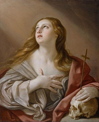 「悔悛するマグダラのマリア」(1635年)グイド・レーニ