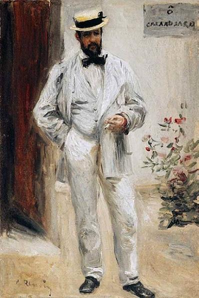 「シャルル・ル・クール」(1872-1873年)ルノワール作