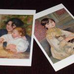 左『ガブリエルとジャン』・右『ジュリー・マネ』 … ポストカード