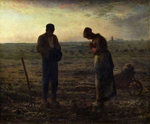 「晩鐘」(1857‐59年)ジャン=フランソワ・ミレー