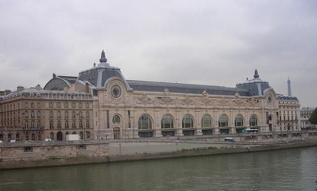 """パリにある""""オルセー美術館"""""""