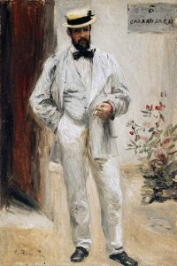 「シャルル・ル・クール」(1872‐73年頃)ピエール=オーギュスト・ルノワール