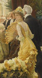 「夜会(舞踏会)」(1878年)ジェームズ・ティソ