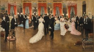 「夜会」(1878年)ジャン・ベロー