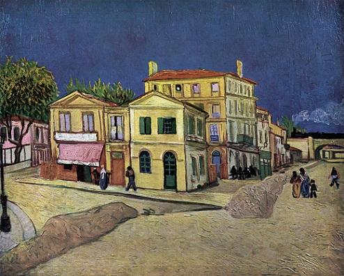 「黄色い家」(1888年)ゴッホ