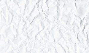 クシャクシャの紙