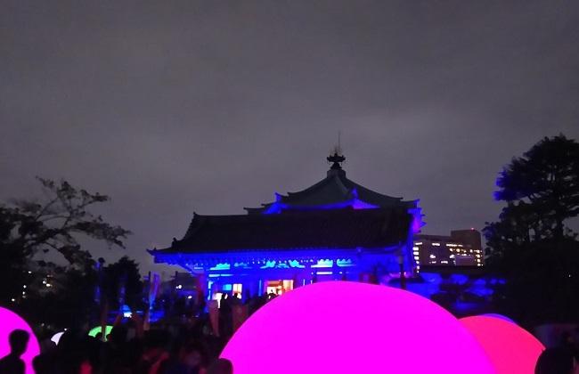 浮遊する、呼応する球体 …「TOKYO数寄フェス」