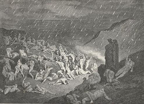 「Inferno Canto14(37-39)」ギュスターヴ・ドレ