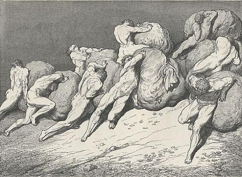 「Inferno Canto7(65-67)」ギュスターヴ・ドレ
