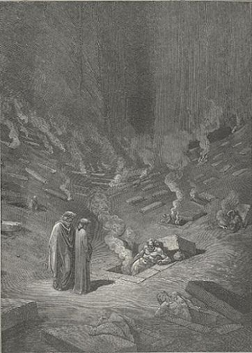 「Inferno Canto9(124-126)」ギュスターヴ・ドレ