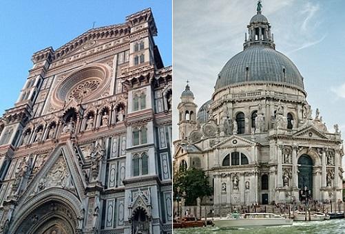 フィレンツェとヴェネツィア