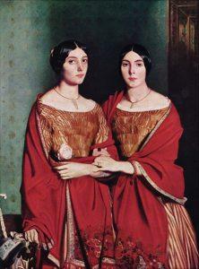 「シャセリオーの姉妹」(1843年) テオドール・シャセリオー