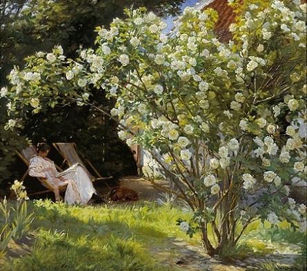 「バラ」(1893年)ペーダー・セヴェリン・クロヤー