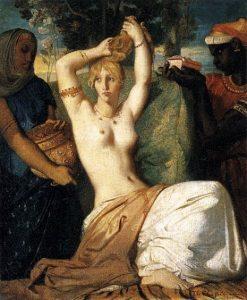 「エステルの化粧」(1841年)テオドール・シャセリオー