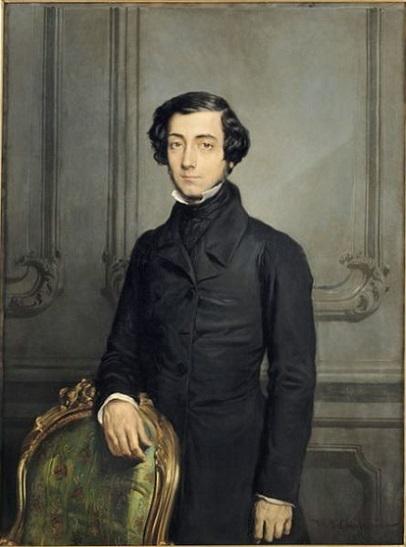 「アレクシ・ド・トクヴィル」(1850年)テオドール・シャセリオー