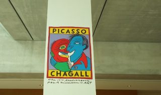 「PICASSO and CHAGALL」