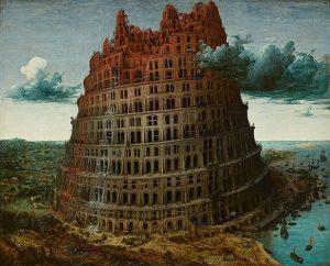 「バベルの塔」(1568年頃)ピーテル・ブリューゲル1世