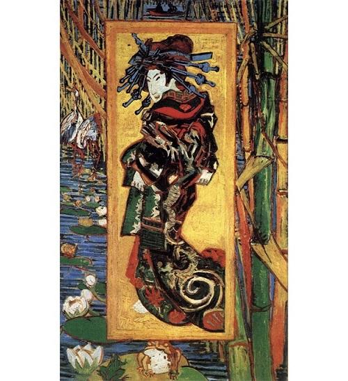 『画家としての自画像』(1887~88年)…フィンセント・ファン・ゴッホ