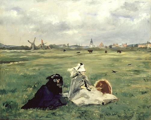 「燕」(1873年)エドゥアール・マネ