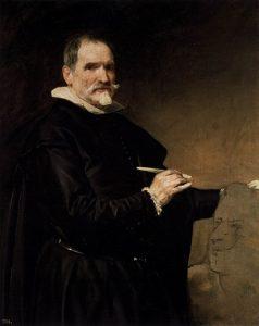 『フアン・マルティネス・モンタニェースの肖像』(1635年頃)ディエゴ・ベラスケス
