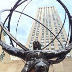 ロックフェラーセンターのアトラス像