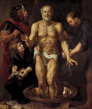 「セネカの死」(1615-16年)ルーベンスと工房