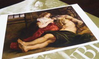 「ルーベンス展」で購入したポストカード