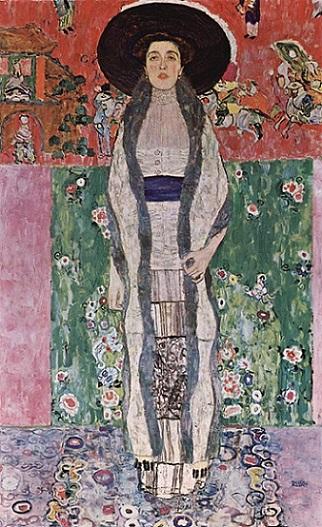 「アデーレ・ブロッホ=バウアーの肖像 II」(1912年)グスタフ・クリムト