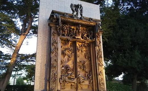 「地獄の門」オーギュスト・ロダン  …国立西洋美術館にて